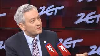 """R. Biedroń: """"Nie będę bojkotował TVP. To nie moja wojna""""."""