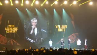 Download Lagu 161225 SECHSKIES 젝스키스콘서트 엔딩토크 FUll & 기억해 줄래 Yellow Note in 부산 Mp3