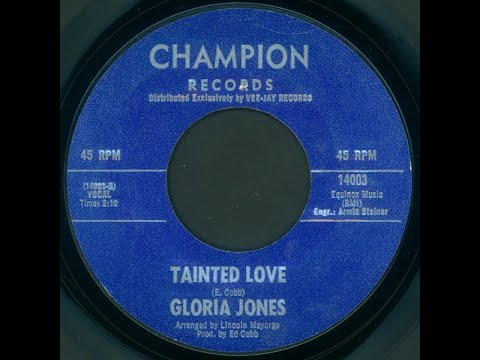 Gloria Jones  Tainted Love  Original  1964-5