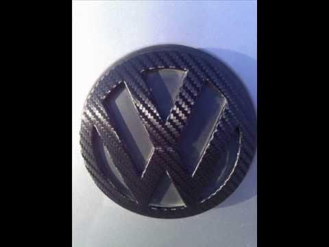 Vinyl wrap your car emblem.