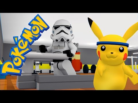 LEGO POKEMON - GYM FAIL