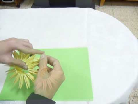 How To Make Flower 3D Origami - Tutorial By DorianSol