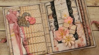 This video is all about Simple & Quick Embellishing for Mini Album Pages! I go through page by page and embellish the Medium ...