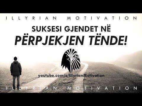 SUKSESI GJENDET NË PËRPJEKJEN TËNDE! - Fjalim Motivues Shqip
