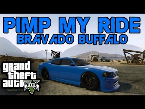 "GTA 5: Bravado Buffalo S Customization Guide ""Franklins Buffalo"" ""GTA V Online"" 1.16"