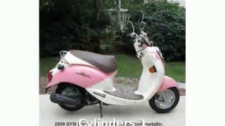8. 2009 SYM Mio 50 Details & Info