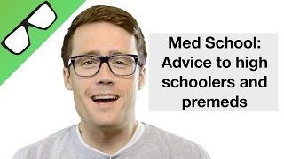 "Hey, I'm Student Doctor ThompsonIn this video I share some advice I have for High School and Premed students who wish to get into medical school. I skimmed over the ""traditional"" advice and went into what I think is much more important. I don't think you should forget about YOU. Medical school will be an option for just about anyone who wants it badly enough, so I'm not as concerned about you getting accepted, because I know if it is important enough it WILL happen, as I am concerned about the quality of life doctors will have in the future. It all starts with high school when we can really step back and make sure life isn't so serious that we loose track of what it is really all about and head for an unwavering path to premed, med school, residency, and a career that we aren't really even sure we want anymore. I talk about ruling out other options before starting medical school, hopefully to avoid having a mid-life crisis of sorts, or a mid-training crisis and hopefully to avoid leaving medicine all together. Anyways, it is clear that I'm not very good at writing, so I'll stop. Thank you for watching, please comment if you feel so inclined, and please subscribe to follow future videos from yours truly."
