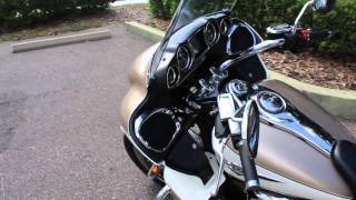 4. 2012 Kawasaki Vulcan Voyager 1700cc w/ Abs Corba Exhaust Walk Around and Idle Review