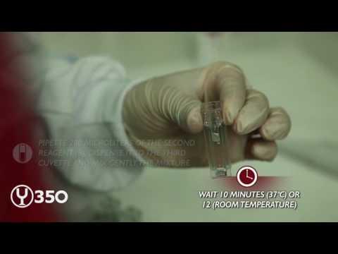 L-Malic Acid testing on Y-350 Analyzer
