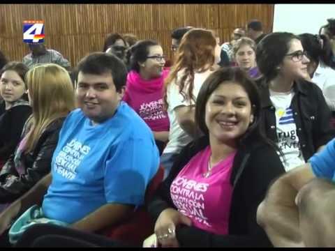 """""""Uruguay país del buen trato"""" realiza intervenciones en la ciudad"""