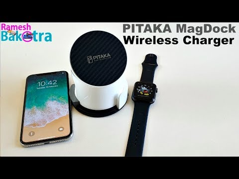 PITAKA MagDock Wireless Charger Unboxing - Thời lượng: 108 giây.