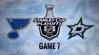 Blues cruise to 6-1 win in Game 7 to advance to WCF by NHL