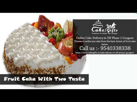 CakenGifts in the Best option in Gurgaon Online Order Fruit Cake in your Budget