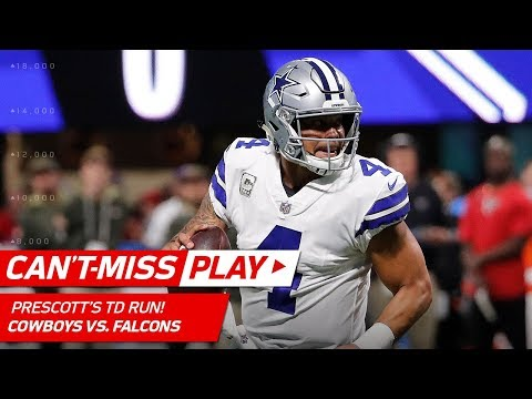 Video: Xavier Woods' Diving INT Sets Up Dak Prescott's TD Run & Front Flip! | Can't-Miss Play | NFL Wk 10