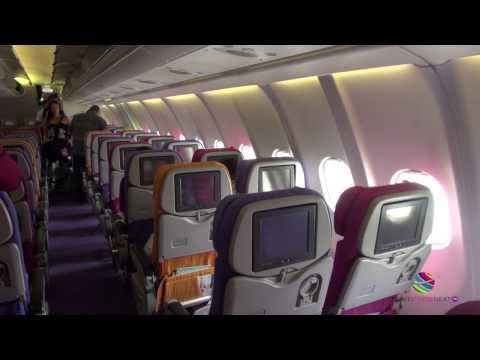 Fly Thai Airways, Phuket to Bangkok, Airbus A330-300