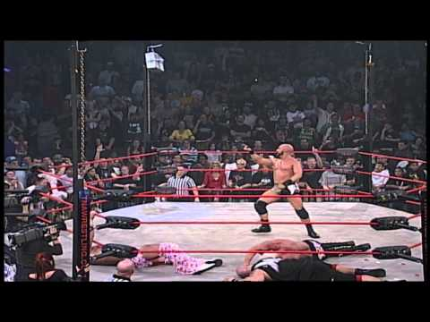 Point - Turning Point 2007: Feast or Fired match: Scott Steiner, Senshi, B.G. James, Petey Williams, Shark Boy, Lance Hoyt, Christopher Daniels, Elix Skipper, Homici...