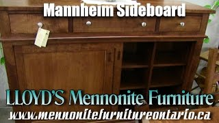 Mennonite Mannheim Sideboard