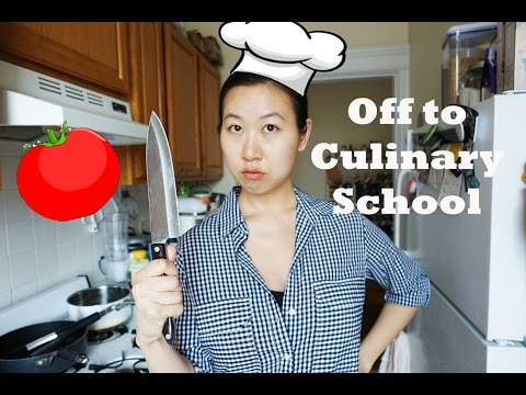 Cooking School VLOG: Off To Culinary School!
