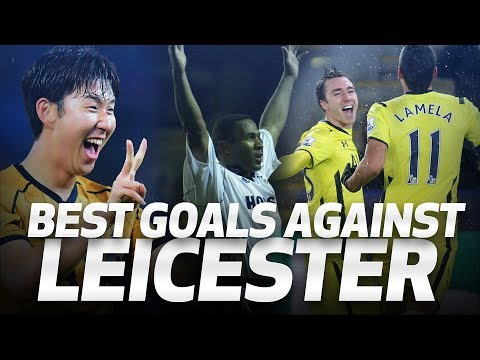 💥⚽ SPURS' BEST GOALS AGAINST LEICESTER