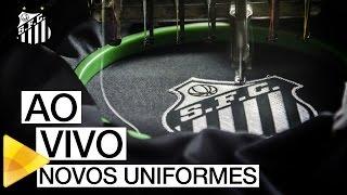 Acompanhe, AO VIVO, o lançamento dos novos uniformes do Santos FC, diretamente do Salão de Mármore da Vila Belmiro. Inscreva-se na Santos TV e fique por dent...