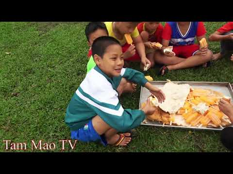 Bánh Mỳ Khổng Lồ Kẹp Kem - Cười Há Mồm Với Pha Phụ Lái Máy Xúc Của Mao Đệ - Thời lượng: 26 phút.