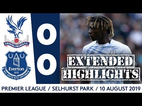 Video: MOISE KEAN + JP GBAMIN MAKE EVERTON DEBUTS | EXTENDED HIGHLIGHTS: CRYSTAL PALACE 0-0 EVERTON