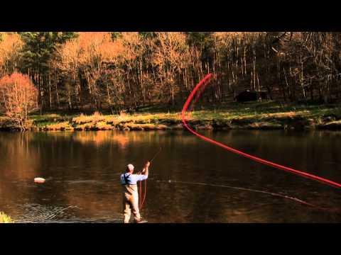 Pêche à la mouche: Démonstration de la maîtrise du lancer parfait!