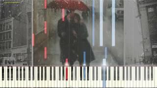 Поцелуй Дождь - Yiruma (Ноты и Видеоурок для фортепиано) (piano cover)