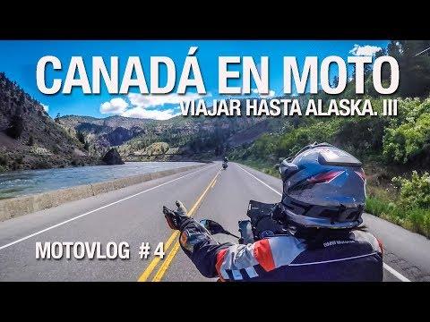 Viajar hasta Alaska. Canadá / Motovlog de viajes en español #4