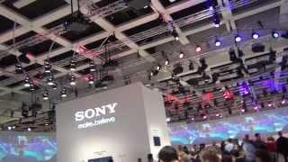 Как это было: выставка электроники IFA Berlin 2013, часть 3: павильон Sony - Xperia, Vaio Multi-Flip