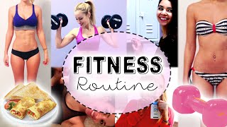 Routine Fitness + Évolutions sportives! - YouTube