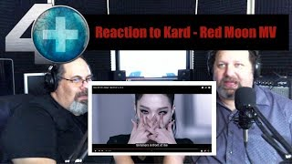 Video Reaction to Kard - Red Moon download in MP3, 3GP, MP4, WEBM, AVI, FLV January 2017