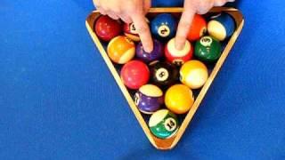 How To Rack 8 Ball Billiards