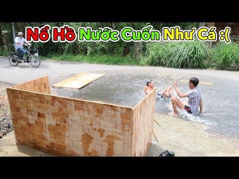 Lamtv - Thử Làm Hồ Bơi Bằng Gỗ và Cái Kết | How to make a Wooden Pool - Thời lượng: 10:34.