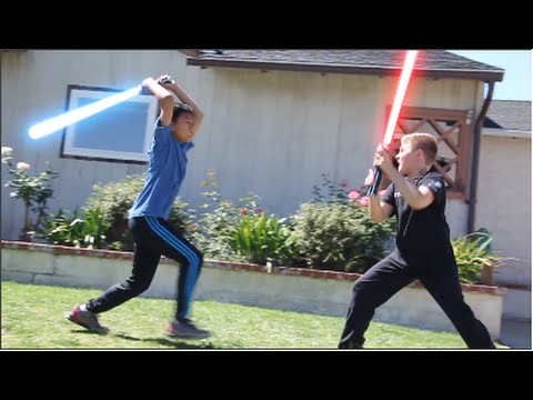 Revenge Of The Kids - How Kids Play Star Wars (parody)