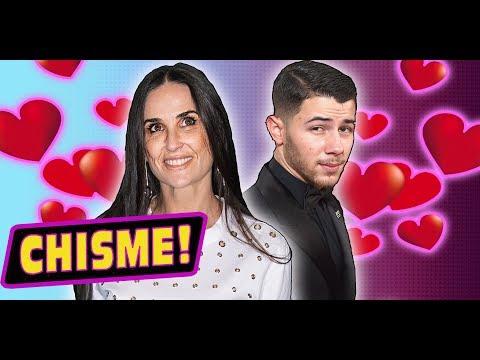 ¿Nick Jonas y Demi Moore Andan Saliendo? #Chismelicioso