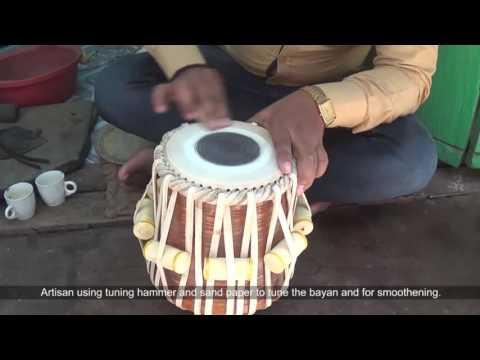 Tabala Making - Varanasi