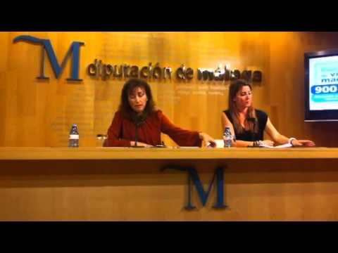 """Ana Mata y Pilar Conde presentan la campaña """"Espacio Libre de Violencia de Género"""""""
