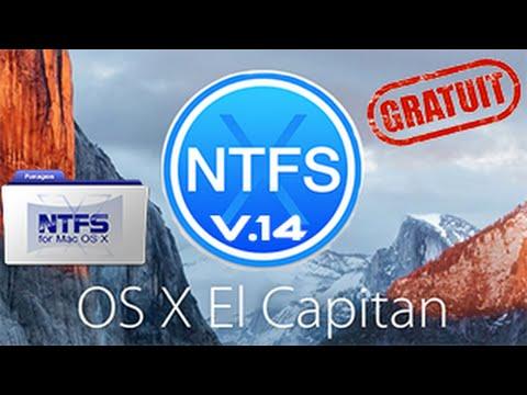 Paragon NTFS 14 gratuit Compatible Mac os x 10.11 El Capitan