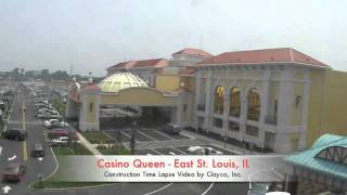 Casino Queen Construction Timelapse Video - East St. Louis, MO