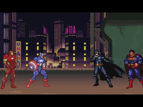 Batman v Superman v Iron Man v Captain America Dawn of Civil