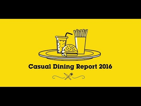 Casual Dining Report 2016 Info-graphic Video Done by Bode Animation