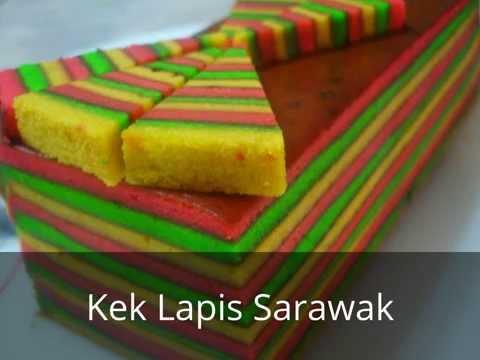 Resepi Kek Lapis Sarawak