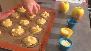 Cookies aux pommes et chocolat