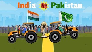 India Vs Pakistan Tractor Tochan Mukabla | India vs Pakistan | World Cup 2019 Mauka Mauka| #INDvsPAK