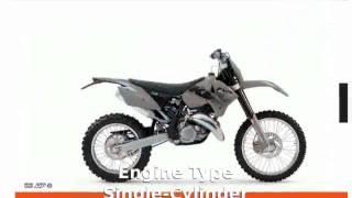 4. 2006 KTM XC 300 W superbike & Details