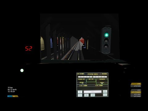 OpenBVE HD: New York City Subway R160A Alstom ONIX AC Propulsion Sound Modification On The F Train