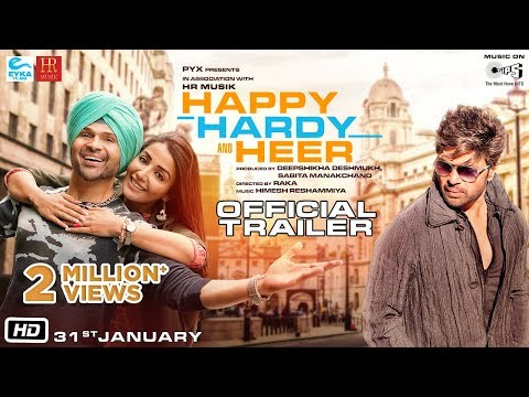 Happy Hardy And Heer Official Trailer