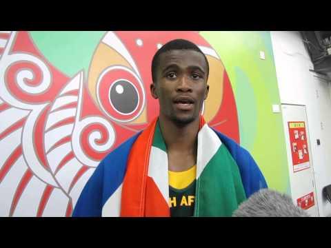 Video: Beijing 2015: Anaso Jobodwana on breaking NR, winning 200m bronze