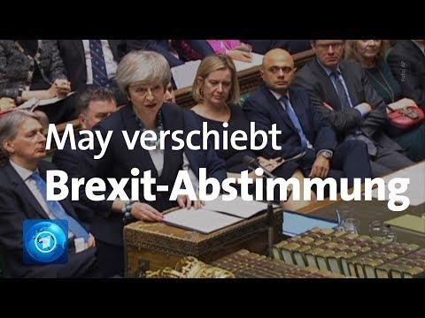 Keine Brexit-Abstimmung im britischen Unterhaus